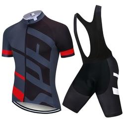2021 Fietsen Sets Bike Uniform Zomer Wielertrui Set Road Fiets Jerseys Mtb Fiets Dragen Ademend Fietsen Kleding
