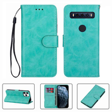 For TCL 10 SE TCL10SE TCL10 10SE Wallet Case High Quality Flip Leather Phone Shell  Protective Cover Funda