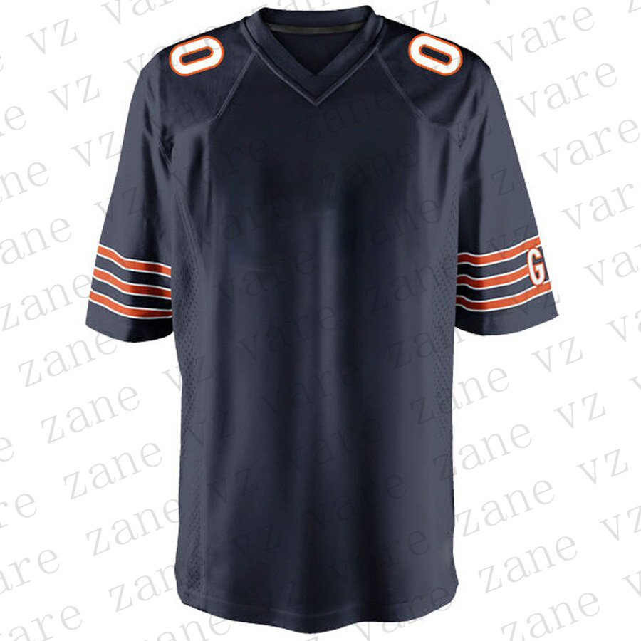 Customize Mens American Football Khalil Mack Walter Payton Mitchell Trubisky Eddie Jackson Cheap Chicago Jersey