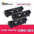INKARENA 3 шт совместимый для Canon CRG 303 Черный тонер-картридж для Canon CRG-303 LBP 2900 LBP 3000 принтеры