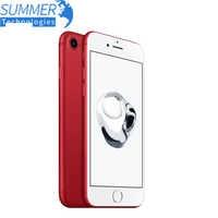 Apple iPhone 7 Original 4G LTE teléfono móvil Quad Core 2GB RAM 32G/128/256GB IOS 12.0MP de huellas dactilares de los teléfonos celulares