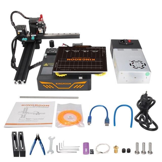 KINGROON KP3S 3D Printer High Precision Printing Upgraded DIY 3d printer Kit Touch Screen Pringting Size 180*180*180mm 6