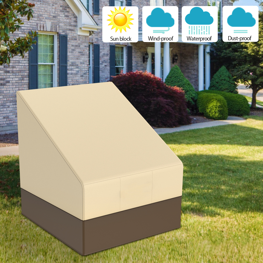Patio Furniture Cover Outdoor Yard Garden Chair Sofa Waterproof Dust Cover Sun Protection Oxford Cloth