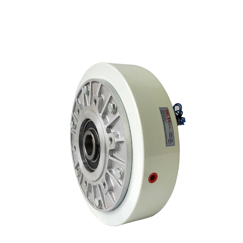 FZ25K-1 2.5kg Hollow Shaft Magnetic Powder Clutch Winding Brake for Tension Control Bagging Printing Packaging Dyeing Machine