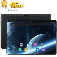 10 Pollici Tablet Pc Deca 10 Core Ram 8 Gb di Rom 128 Gb Ips 4G Lte Chiamata di Telefono Tab wifi Bluetooth Gps Android 9 Compresse 10.1 2560X1600