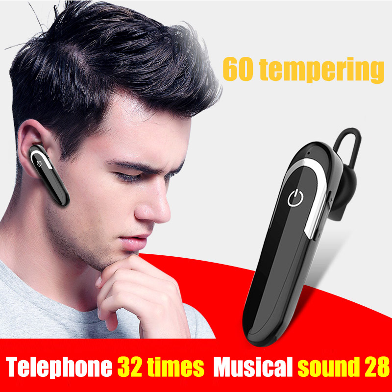 Wireless Bluetooth Earbud Stereo Earphone Hand Free Headset for iPhone Samsung PUO88