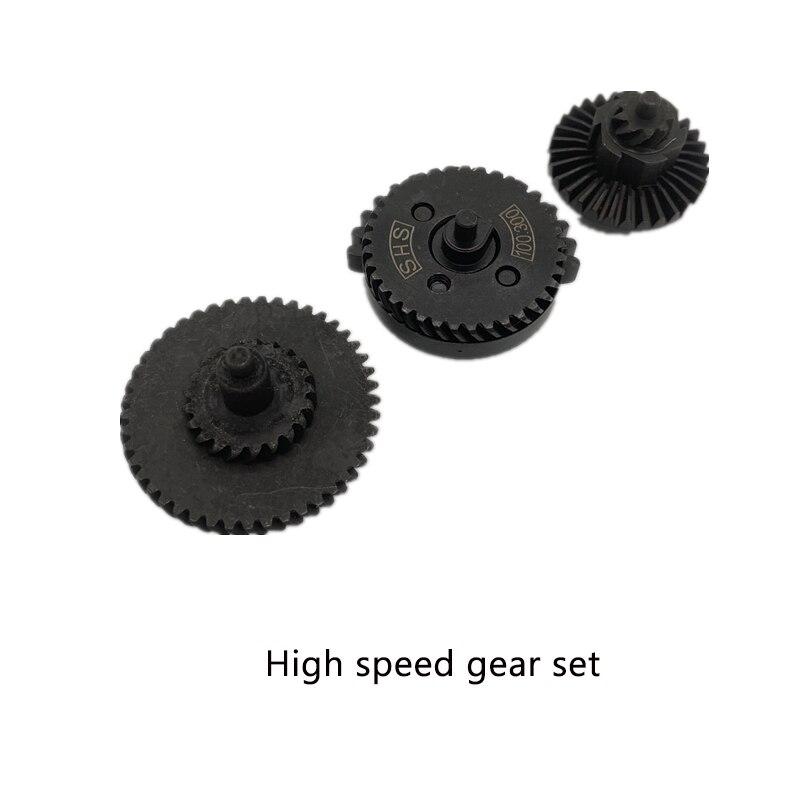 SHS13:1 16:1 18:1 32:1 100:200, 100:300 equipo de alta velocidad de Ver.2 / 3 AEG/EBB Airsoft de la caja de cambios de