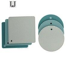 Youpin JordanJudy сотовая Силиконовая подложка для кастрюли, кухонный нескользящий коврик для стола, утолщенная миска, коврик для чашки