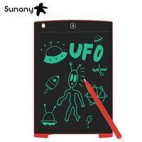 Sunany 12-дюймовый графический планшет для детей и взрослых, ЖК-планшет для письма, электронный блокнот для рукописного ввода, ультратонкая дос...