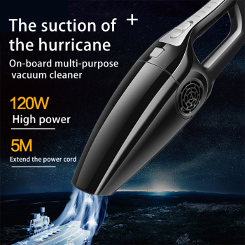 120W 3600mbar Car Vacuum Cleaner High Suction For Car Wet And Dry dual-use Vacuum Cleaner Handheld 12V Mini Car Vacuum Cleaner household vacuum cleaner 18kpa 20i5 power suction car vacuum cleaner vertical vacuum cleaner handheld sweeper mopping machine