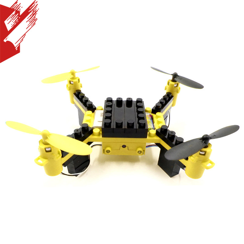 Flytec Building DIY Assembled Quadcopter Mini Children Remote-controlled Unmanned Vehicle Drone