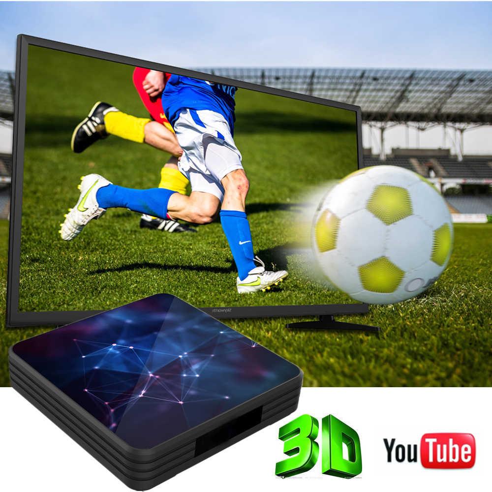 A95X Z3 6K Android 9.0 TV BOX Allwinner H6 4GB RAM 64GB ROM USB 3.0 Google Media Player Smart TV Box A95XZ3 décodeur