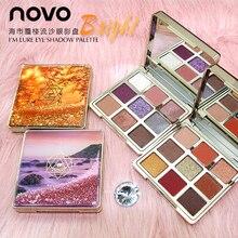 NOVO Mirage Quicksand Eyeshadow Palette 9 colors Matte Waterproof Long Lasting E