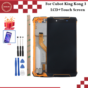 """Image 1 - ocolor For Cubot King Kong 3 LCD Display and Touch Screen With Frame 5.5"""" For Cubot King Kong 3 Phone Accessories +Tools+Film"""