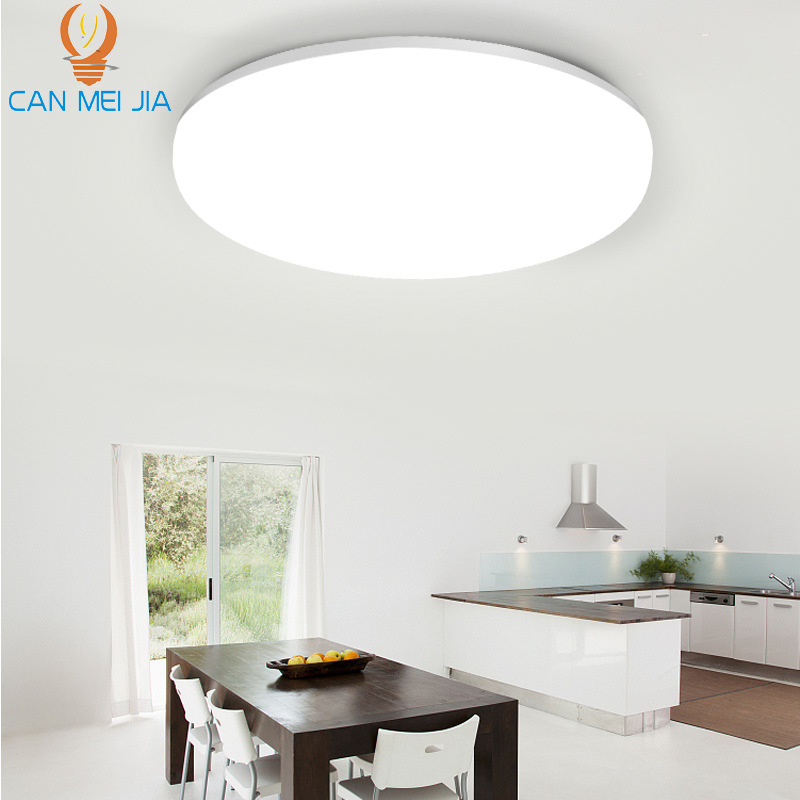 Panneau lumineux LED ronde 15W 20W 30W 50W 220v moderne LED ufo plafonnier montage en Surface Downlight panneau lampe pour l'éclairage à la maison