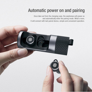 Image 4 - אמיתי אלחוטי אוזניות Qualcomm aptx Nillkin Bluetooth אוזניות עם מיקרופון CVC רעש ביטול אוזניות אוזניות IPX5 מים הוכחה