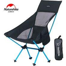 Naturehike легкий сверхмощный складной стул для рыбалки, пикника, портативный складной стул для отдыха на природе, складной стул для пляжа