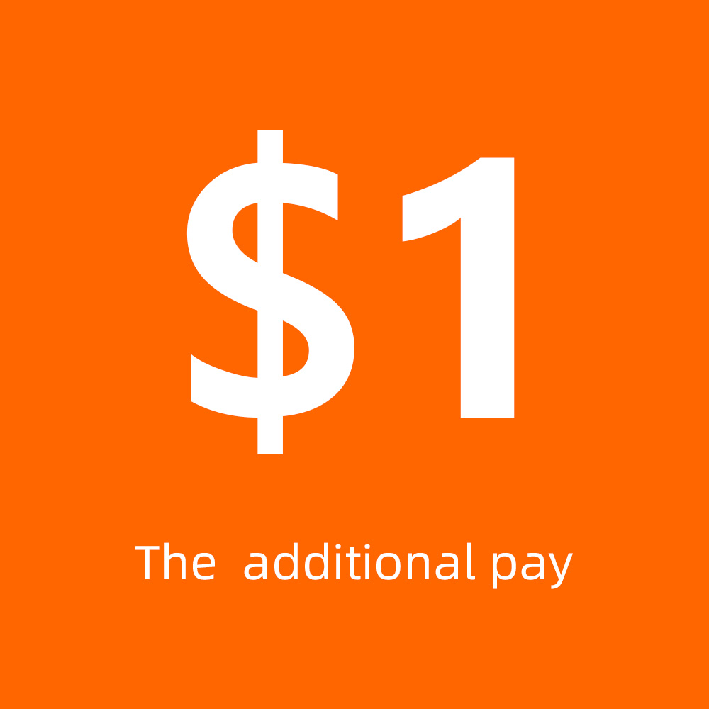 Extra fee to pay