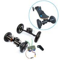 Motor sin escobillas para monopatín eléctrico, 8 pulgadas, para patineta para la carretera, con cinturón de transmisión, 4 ruedas, tabla larga de 11 pulgadas