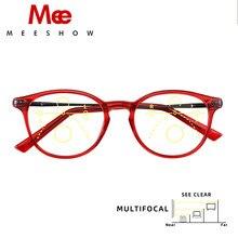 Meeshow-gafas de lectura multifocales para mujer, anteojos elegantes de estilo Retro europeo, estilo Lesebrillen + 1,25 + 1,75 + 2,50 + 2,75 1932