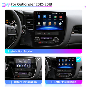 Image 3 - Junsun V1 2G + 32G 안드로이드 10.0 4G 멀티미디어 비디오 플레이어 네비게이션 GPS For Mitsubishi Outlander 3 GF0W GG0W 2012 2018 Car Radio