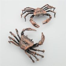 Metal Crab Copper Grasshopper Creative Handmade Ants Tea Ceremony Decoration Shelf Turtle Arts and Crafts