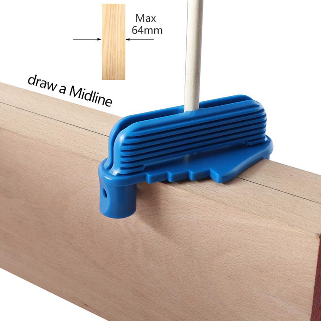 مركز مكتشف خط سكريبر وسم مقياس مركز إزاحة سكريب لأدوات النجارة قياس كونتور يناسب أقلام الرصاص الخشبية القياسية