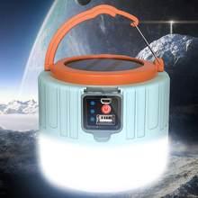 300w solar led luz ao ar livre à prova dwaterproof água acampamento lanterna portátil lanterna tenda-lâmpada usb-luz de carregamento da noite