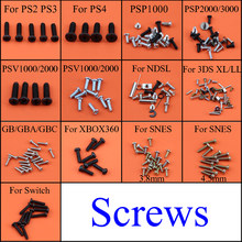 For Sony PS2 PS3 PS4 Controller Philips Head Replacement Screw Set Screws for XBOX360 PSV1000 /2000 NDSL Switch PSP2000 / 3000(China)