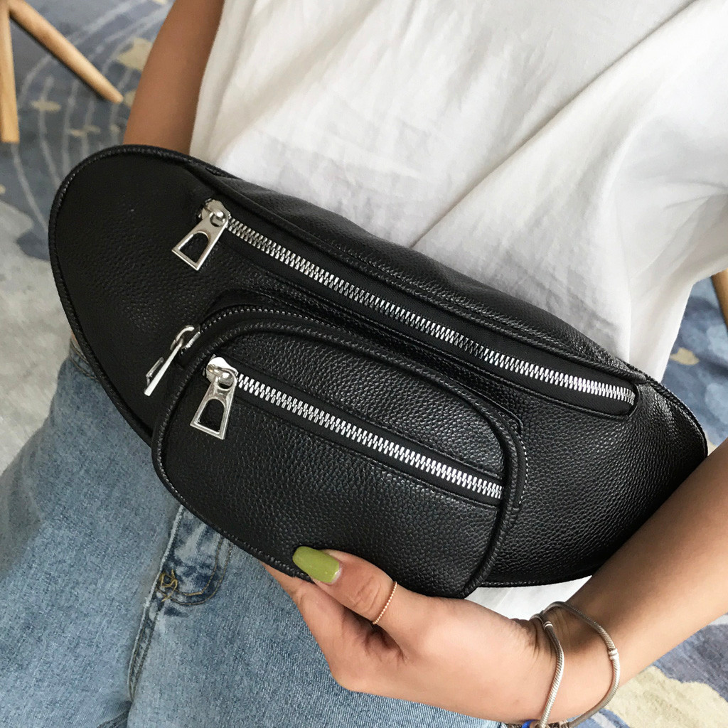 Fashion Women Waist Fanny Pack Belt Bags Pouch Travel Hip Bum Bag Mini Purse New