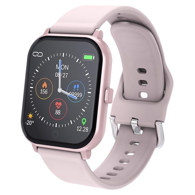 Inteligentny zegarek MKS5 zegarek do Fitness wodoodporny Bluetooth Sport tętno Tracker połączenie/wiadomość z przypomnieniem Smartwatch dla androida iOS