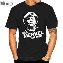 The Merkel I Angela Merkel Political Satire Policy Sayings Slogan Fun T-Shirt Vintage Tee Shirt
