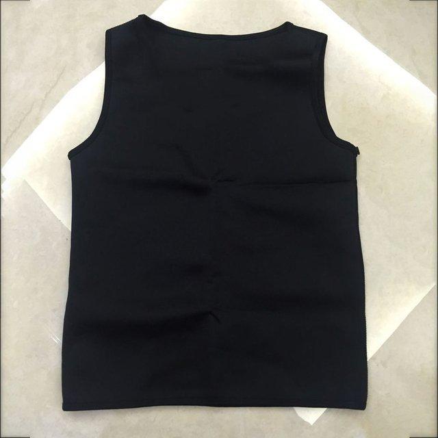 Hot sale Sweat Sauna Body Shaper Men Vest Thermo Neoprene Trainer Sliming Waist Belt Durable And Comfortable Vest 4