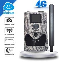 4g bezprzewodowe kamery myśliwskie chmura obsługa usług 24MP niewidzialny noktowizor 90ft dźwięki nagrywanie gra call photo traps