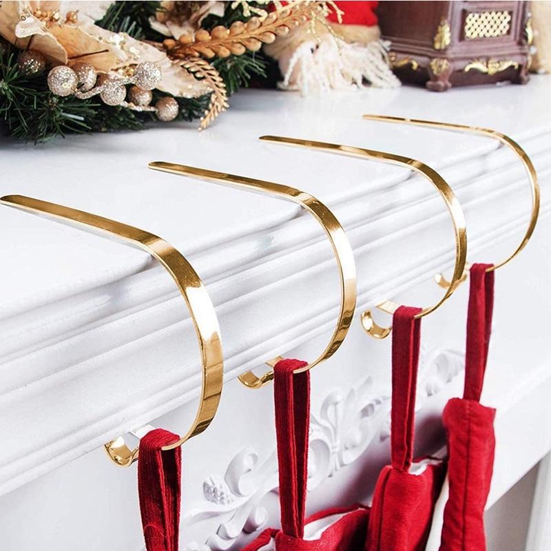 Купить рождественские крючки для чулок домашние кухонные подвесные