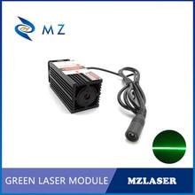520nm ile ince ışın 300mw 500mw 1w yeşil çizgi lazer modülü odadan kaçış/labirent sahne /Bar dans lambası