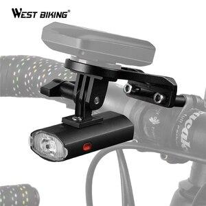 Bike Light With GoPro Mount Ho