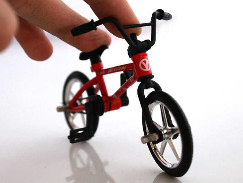 Моделирование Мини Сплав палец велосипед модель детских игрушек запасное колесо инструмент замок набор игрушка подарок для детей