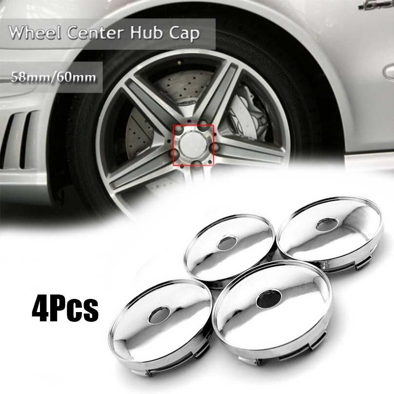 Fiat 4pcs 68//65mm Wheel Centre Caps Rim Hub Covers Alloy Wheels New Genuine