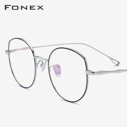 B титановая оправа для очков для женщин, новинка 2019, очки кошачий глаз по рецепту, очки для близорукости, оптические оправы для очков, мужские...