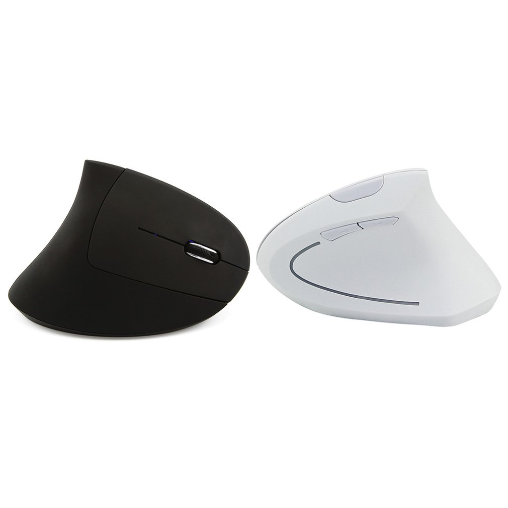 2.4G Wireless Vertical Ergonomic Optical Mouse 800 / 1200 /1600 Dpi 5 Buttons For Laptop Professional Fashion
