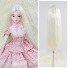 Wig Doll-Wig-Accessories Doll's White/black for Head-Circumference 20-23cm Net-Cover