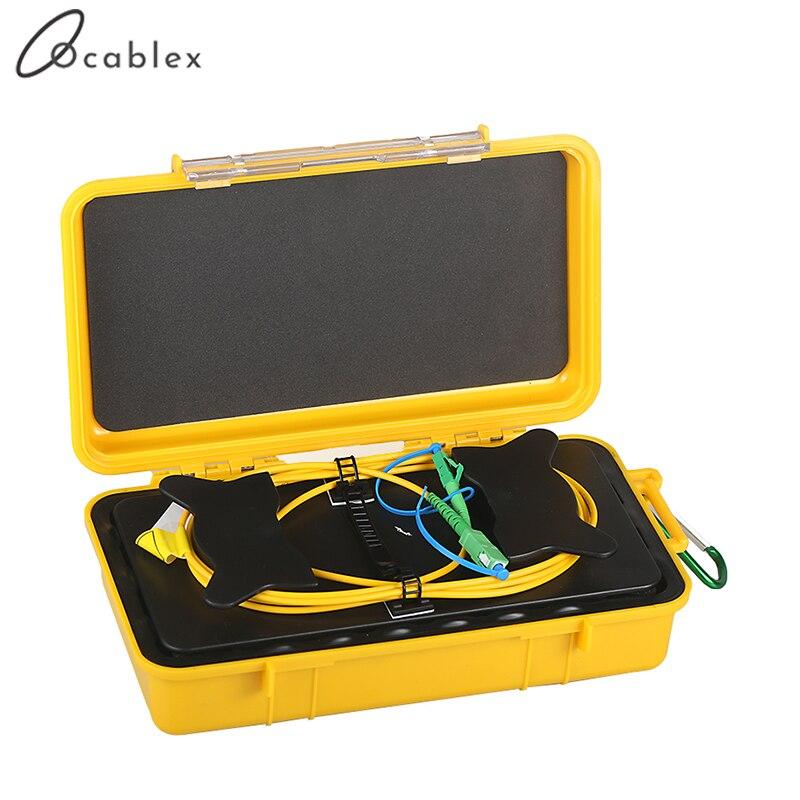 multimode Launch Cable Box MM 500m OTDR Dead Zone Eliminator Fibre Ring 850//1300