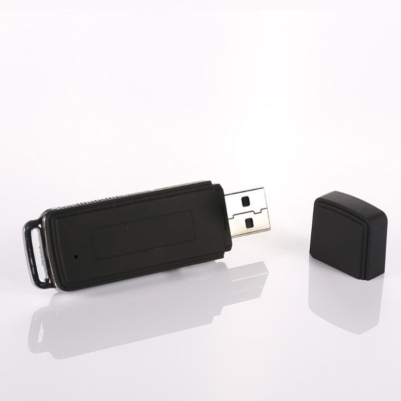 2021 neue 8GB Wiederaufladbare Mini USB-Stick Aufnahme Diktiergerät 70Hr Digital Voice Recorder Tragbare