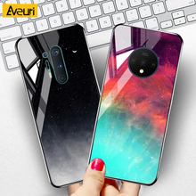 For OnePlus 8 7 T 7T Pro Case Cover 9H Tempered Glass Luxury