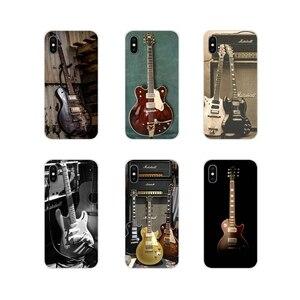 Acessórios Do Telefone Shell Cobre guitarra amp marshall Para Samsung A10 A30 A40 A50 A60 A70 M30 Galaxy Note 2 3 4 5 8 9 10 PLUS