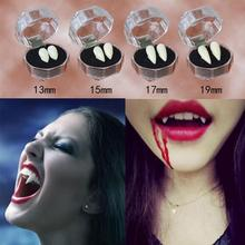 Halloween Fangs Denture Vampire Scary Prosthetic Zombie Party Dental Costume Cosplay Accessories Evil Props