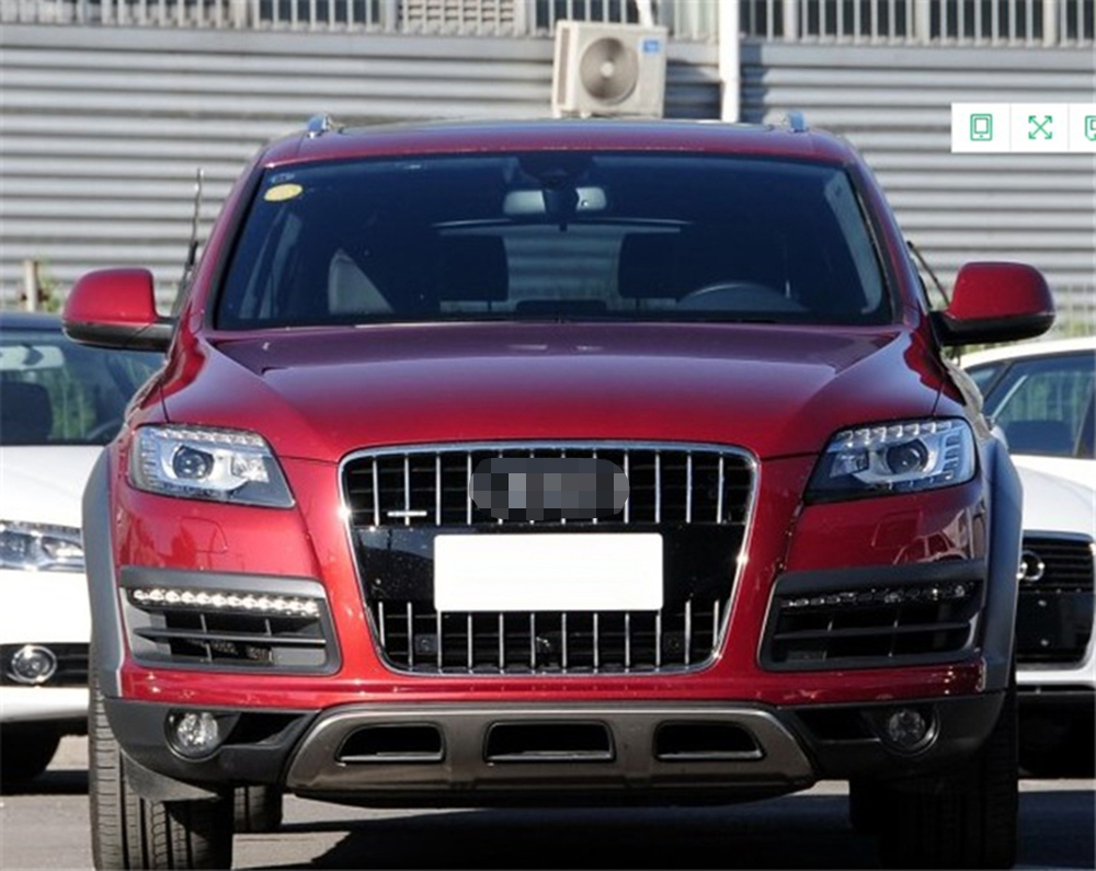 06-ON AUDI Q7 HEAVY DUTY HEADREST MESH DOG GUARD
