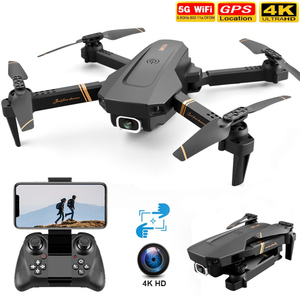 V4 Small Remote Control Drones 4K WIFI HD Camera Photography RC Drone Professional Folding Aircraft FPV Helicopter Kids Toy Gift