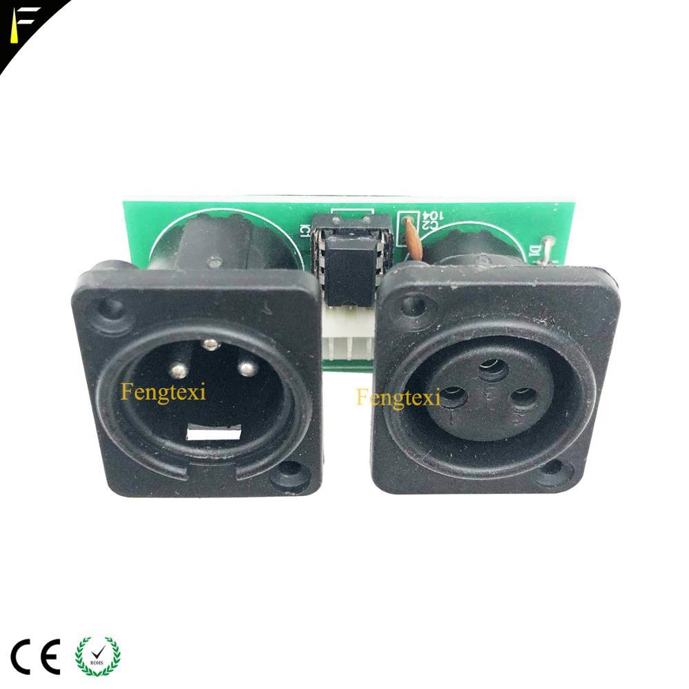 Image 5 - 2pcs 7R/5R 200/230 DMX512 신호 연결 보드 부품 작은 PCB 3pin XLR DMX 커넥터 칩 보드 수리 교체무대 조명 영향등 & 조명 -